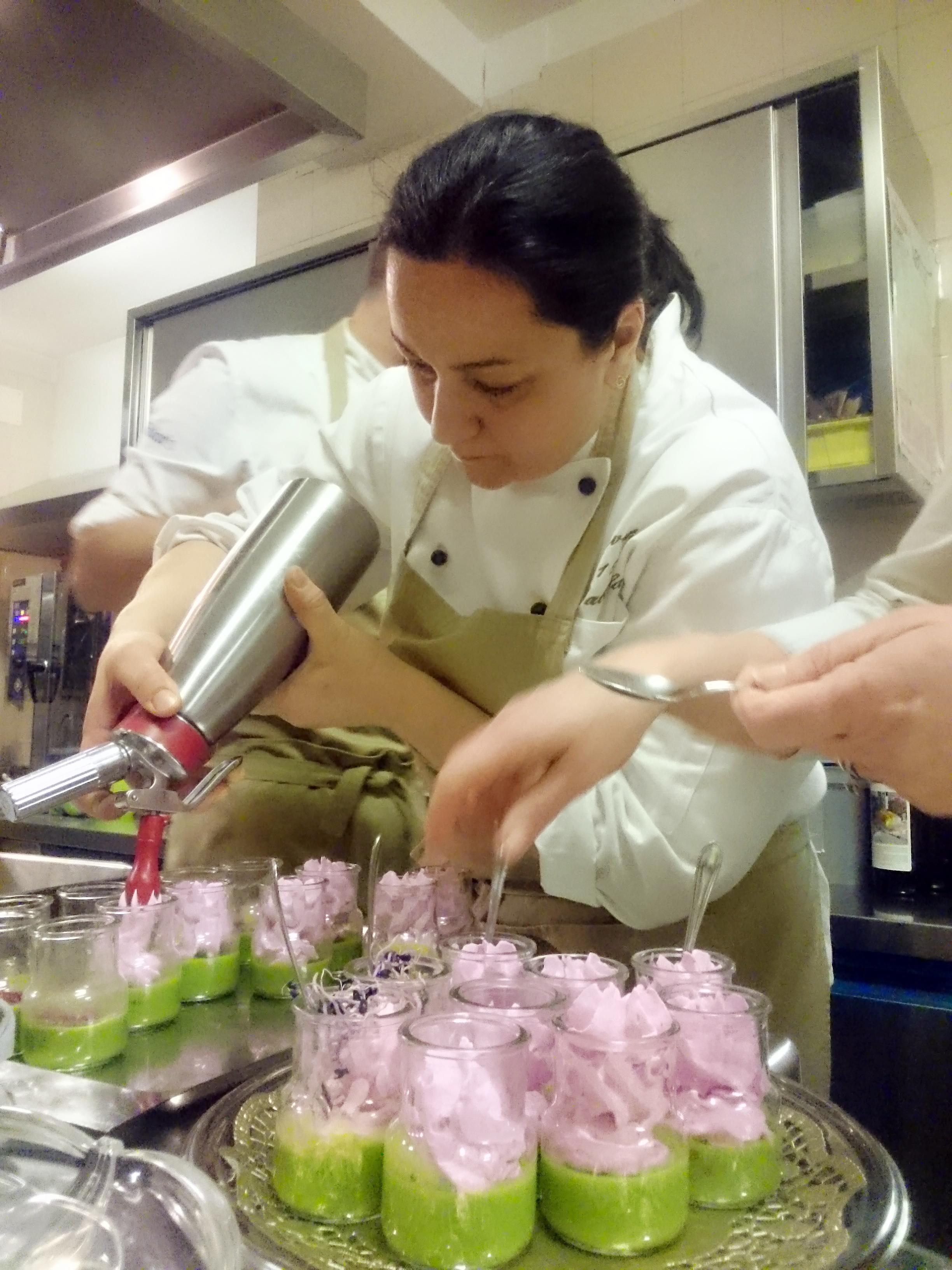Gabriella Devetak, vasetto di primavera (aperitivo)